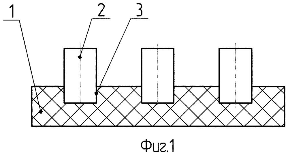 Способ изготовления многоэлементной секции для гидроакустической антенны
