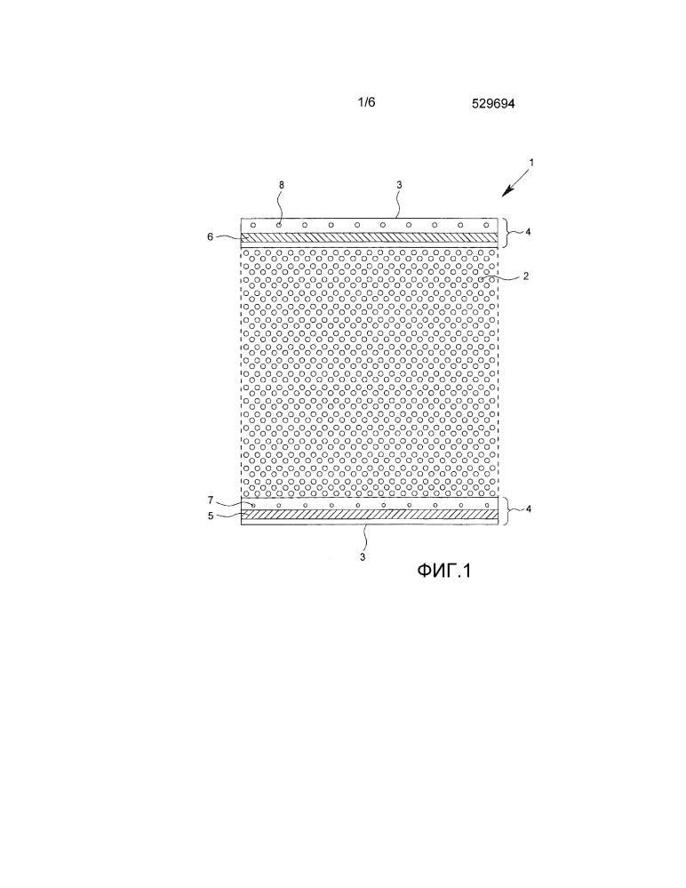 Профилированное полотно и система с множеством профилированных полотен