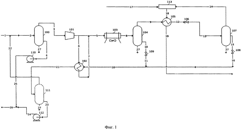 Способ и установка подготовки газа деэтанизации к транспортировке по газопроводу