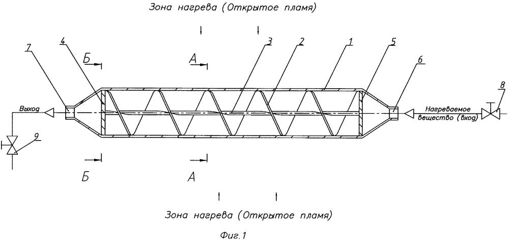 Блок подогревателя текучего вещества