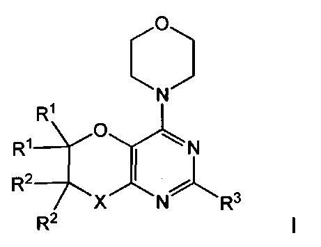 Соединения диоксин- и оксазин[2,3-d]пиримидина в качестве ингибиторов фосфоинозитид-3-киназы и способы их применения