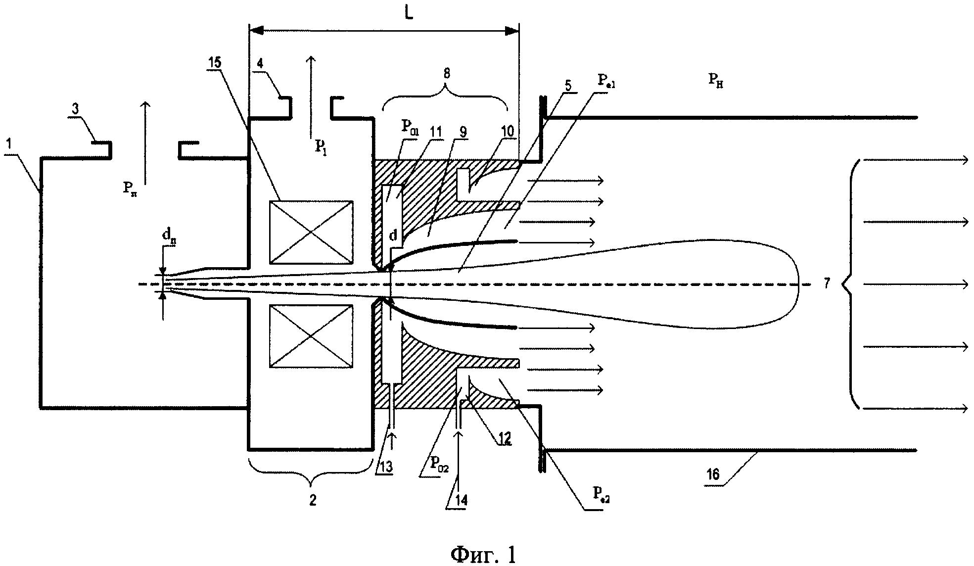Способ ввода пучка электронов в среду с повышенным давлением
