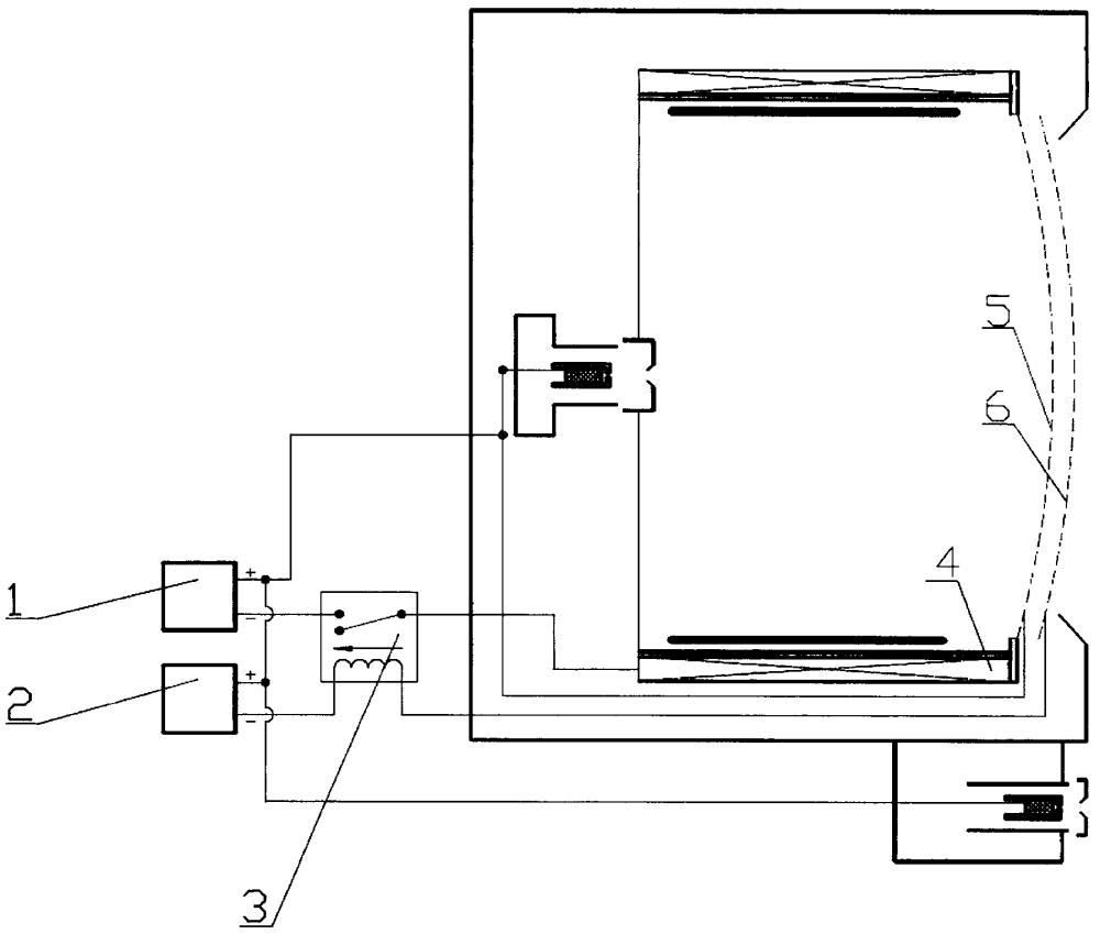 Ионный двигатель с устройством защиты от дугового разряда в межэлектродном зазоре ионно-оптической системы