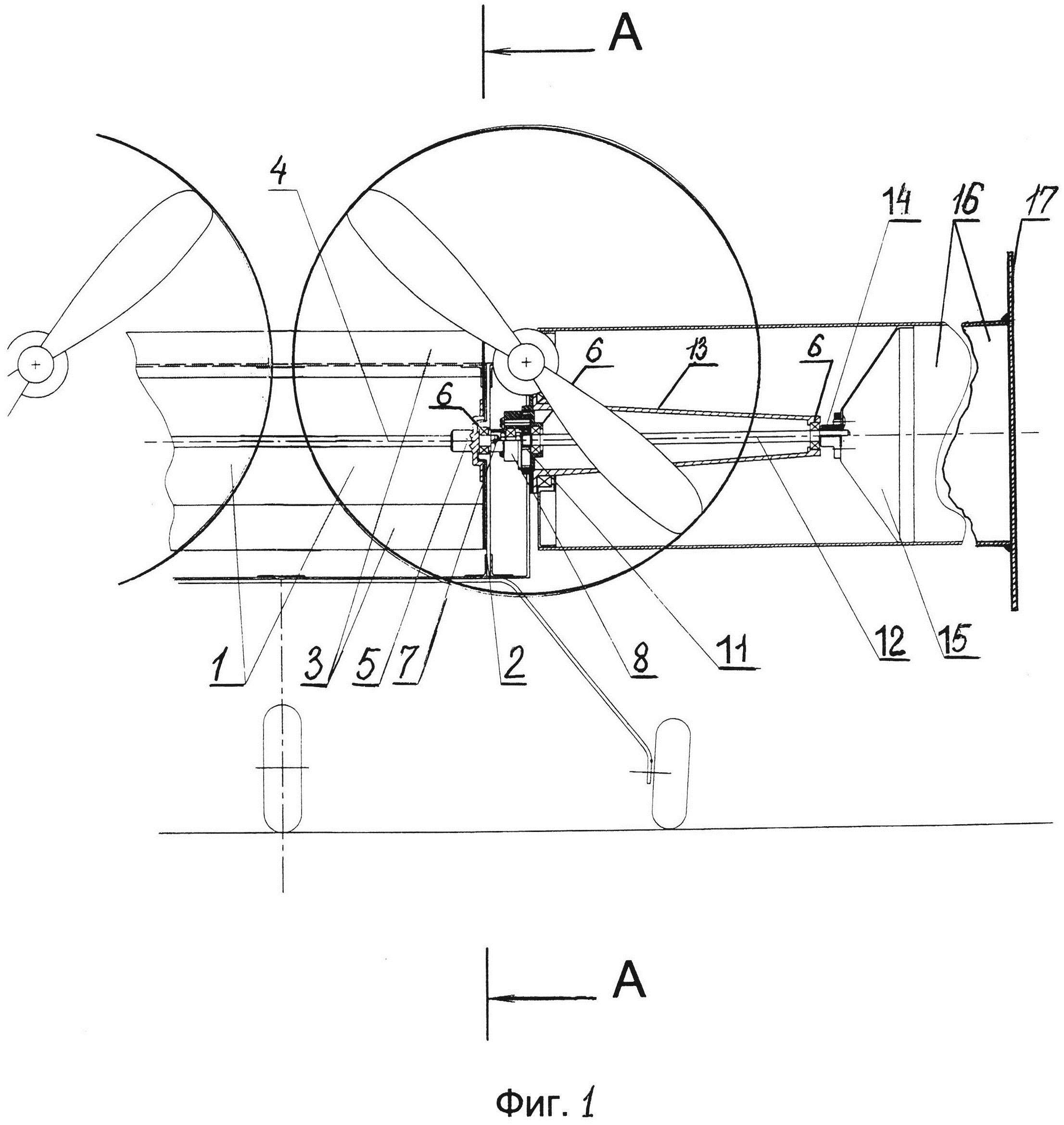 Способ вращения цилиндров, выполняющих роль крыльев на летательных аппаратах