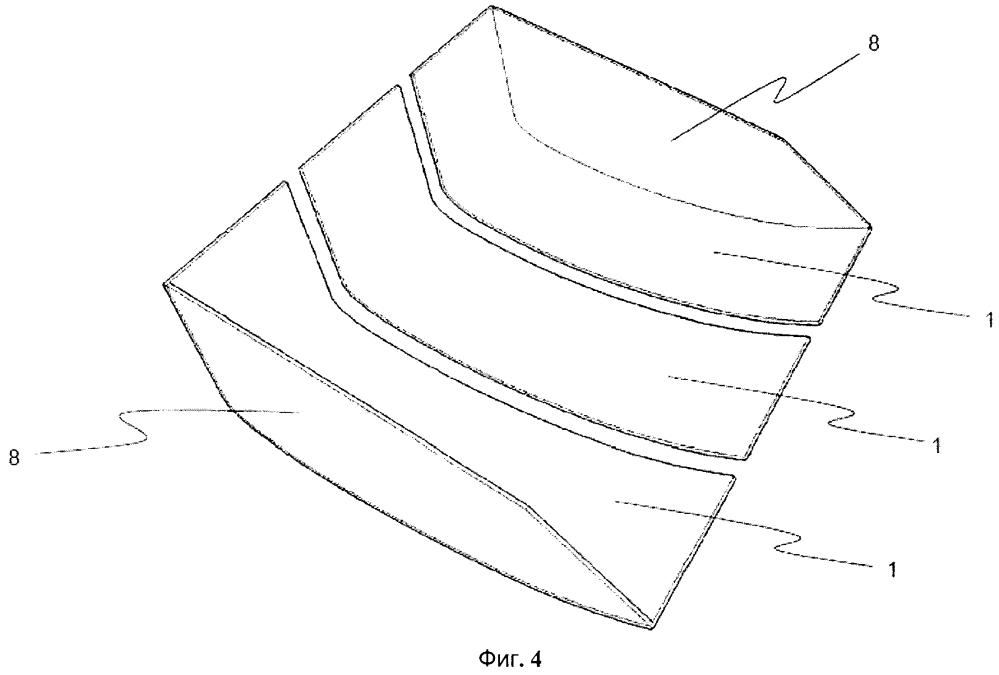 Короб кузова и кузов, выполненный с приплюснутым и удлиненным криволинейным в продольном направлении с-образным днищем