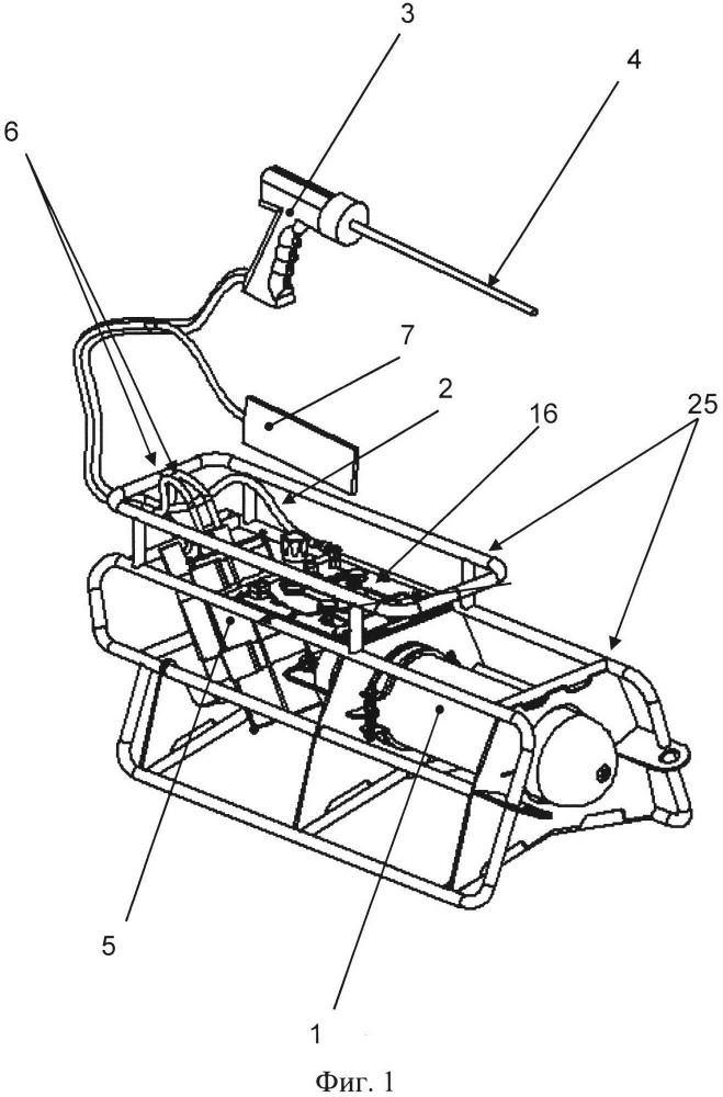 Устройство экзотермической подводной резки