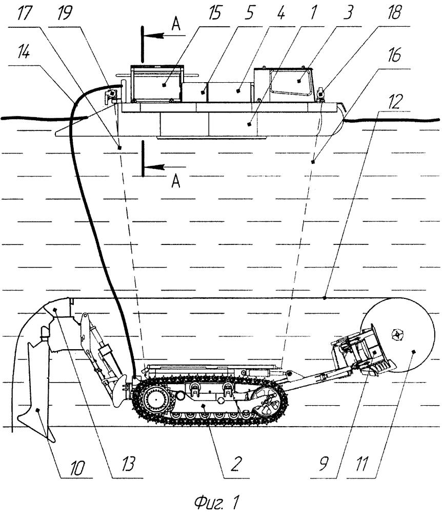 Устройство для производства подводных работ