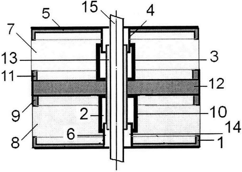 Сетчатый виброизолятор кочетова с центральным полым штоком