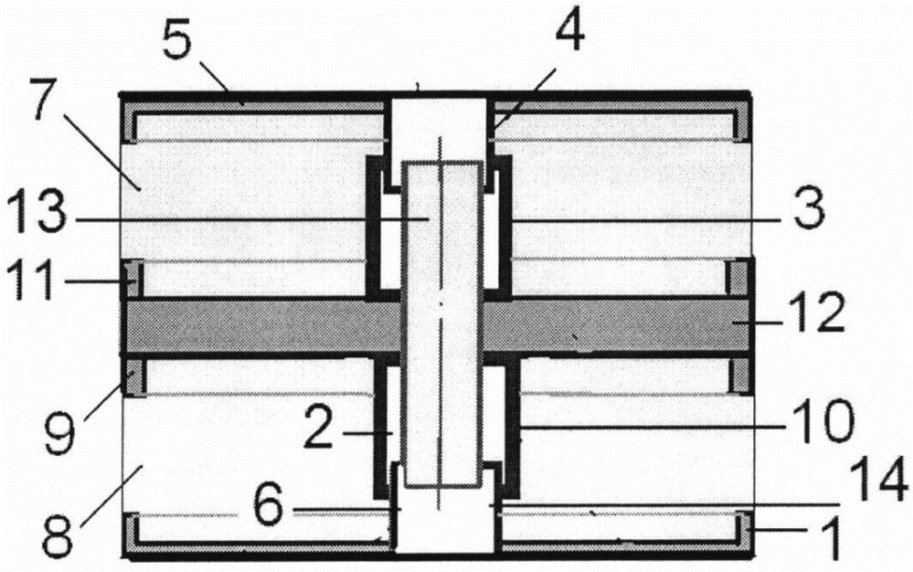 Демпфирующий шайбовый сетчатый пакет кочетова