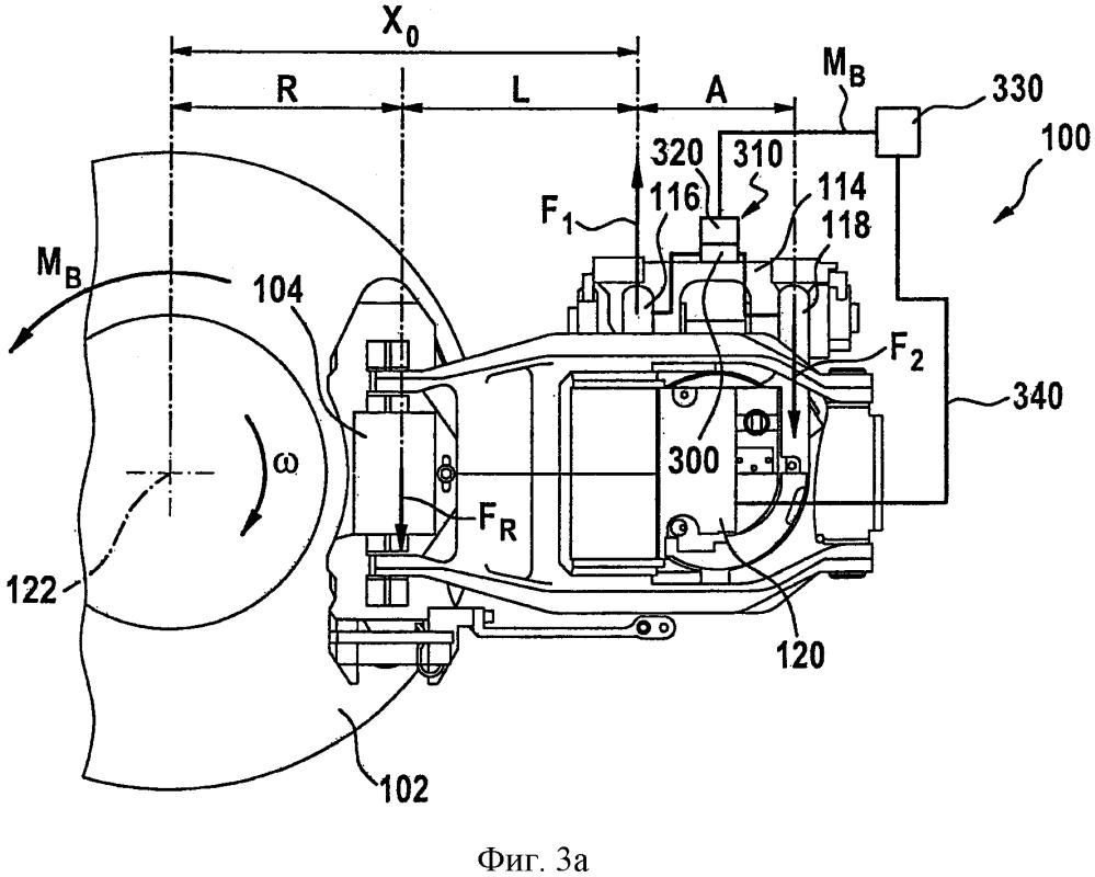 Способ и устройство для определения тормозного момента в тормозной системе для рельсового транспортного средства