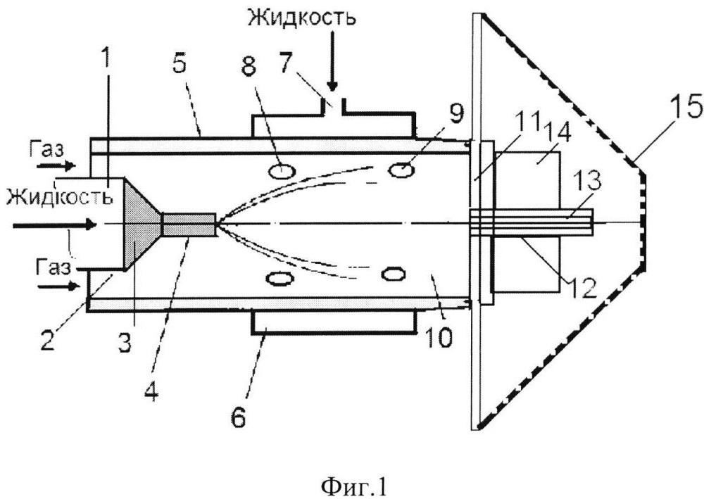 Пневматическая форсунка кочетова