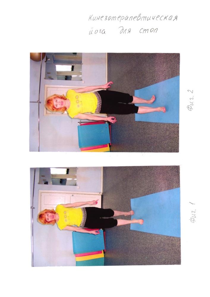 Кинезотерапевтическая йога для стоп
