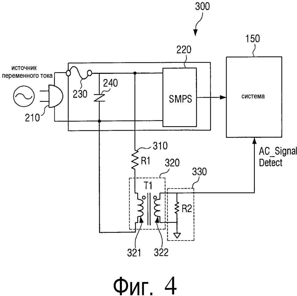 Устройство электропитания и содержащее его устройство формирования изображения