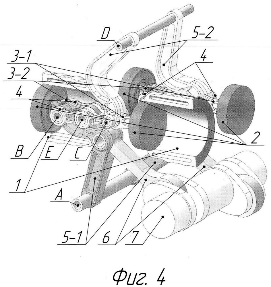 Поршневая машина, преимущественно двигатель, снабженная прямилами уатта