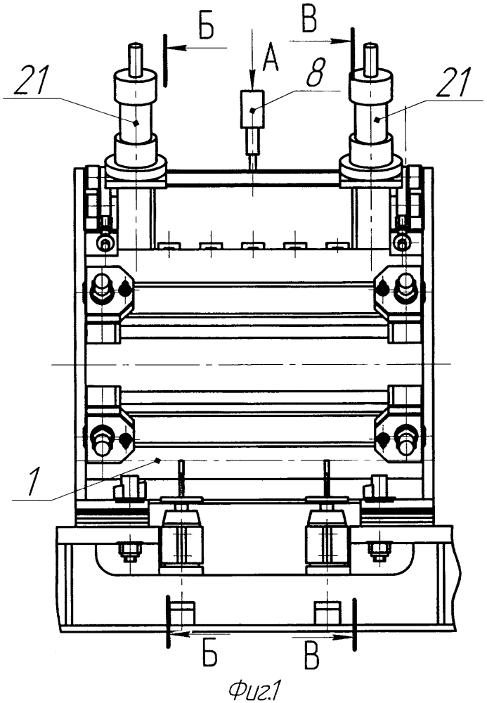 Сварочная клеть для сборки и сварки прямошовных труб конечной длины