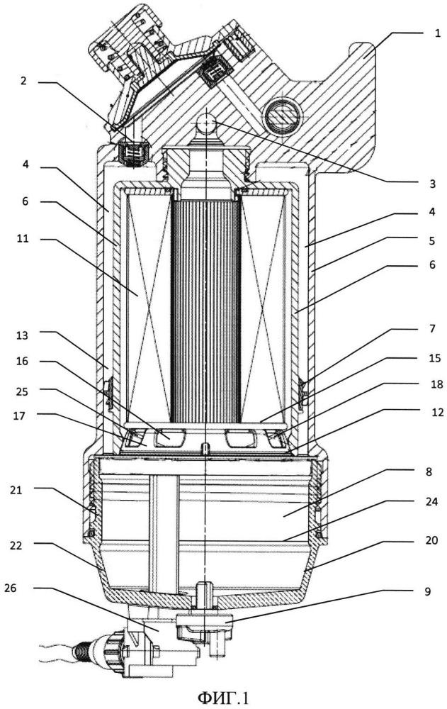 Фильтр очистки биодизельного топлива