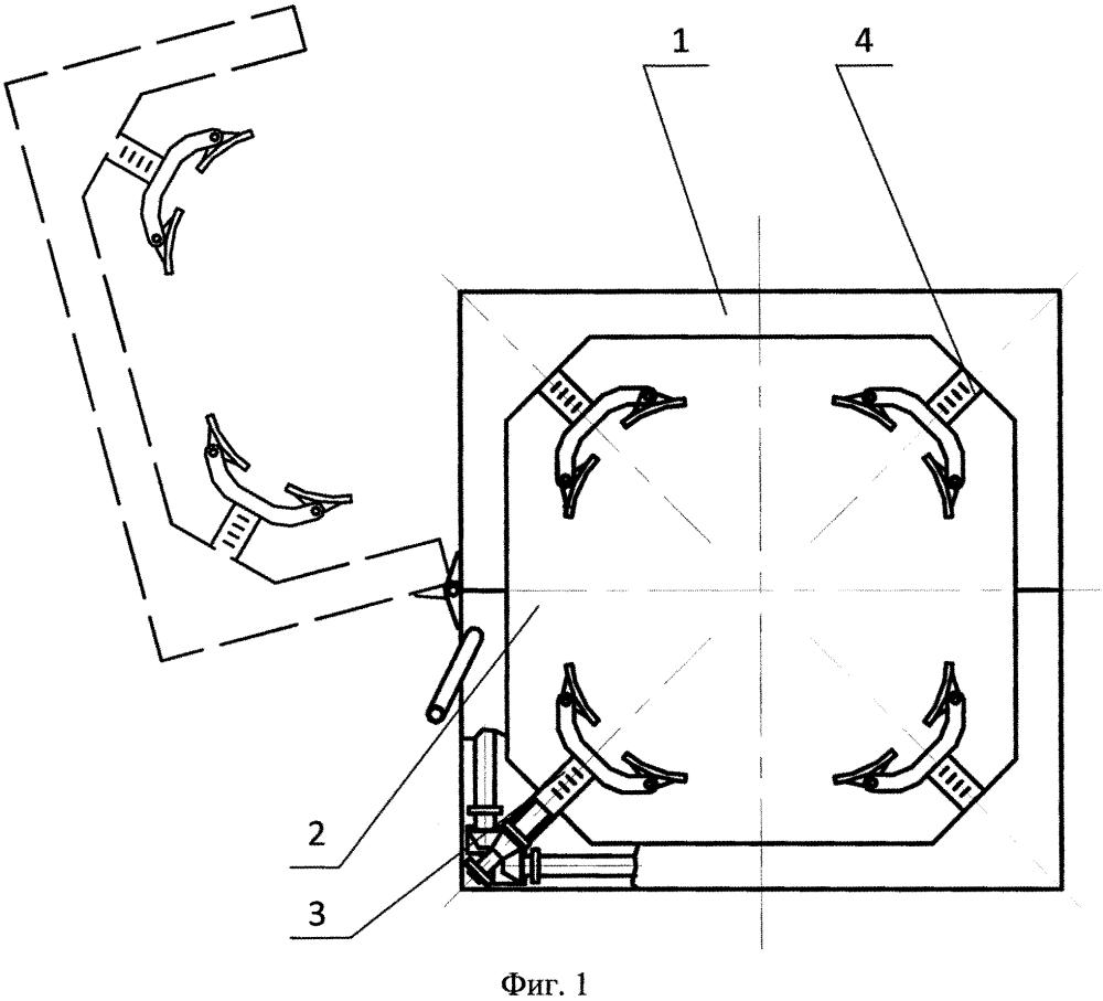 Универсальный модуль фиксации ракет в пусковой установке