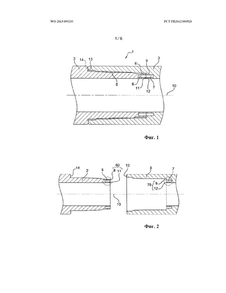 Трубный элемент для бурения и разработки углеводородных скважин и образуемое им резьбовое соединение
