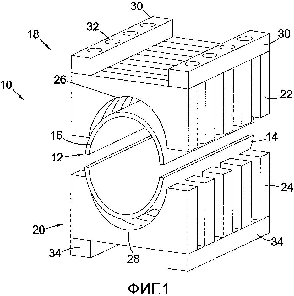 Устройство и способ для уплотнения трубы и способ изготовления указанного устройства