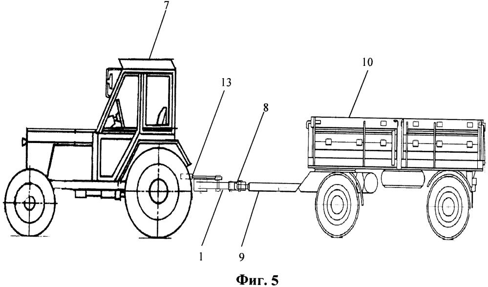 Догружающее устройство машинно-тракторного агрегата
