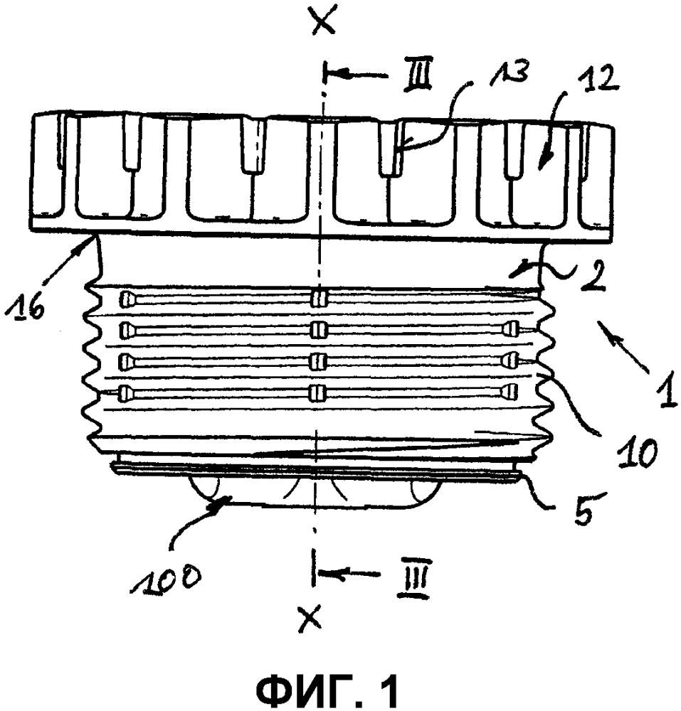 Имеющая форму полого цилиндра винтовая деталь и способ ее изготовления