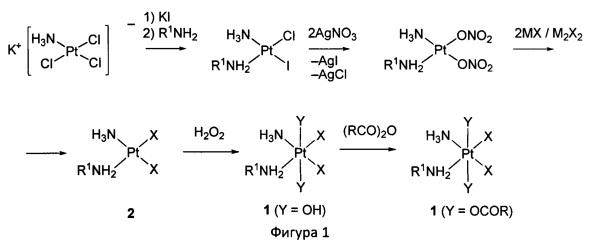 Способ получения комплексов платины (iv) с аминонитроксильными радикалами
