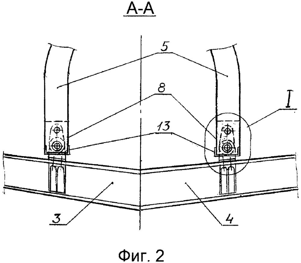 Устройство крепления крыла летательного аппарата