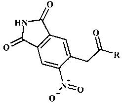 Способ получения 5-нитро-6-(2-оксо-2r-этил)-1н-изоиндол-1,3(2н)-дионов