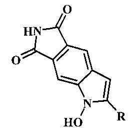 Способ получения 2-замещенных 1-гидроксипирроло[3,4-f]индол-5,7-(1н,6н)-дионов