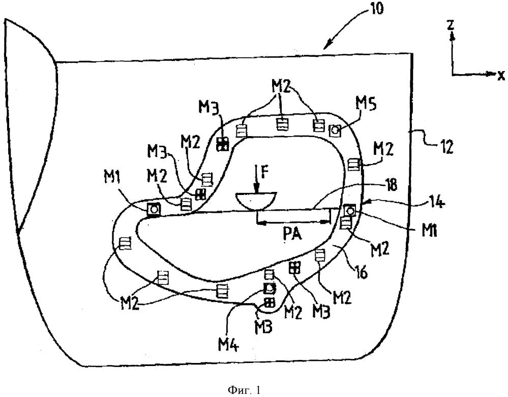 Защелкиваемая обшивка из полимерных материалов двери автотранспортного средства и дверь, оборудованная такой обшивкой