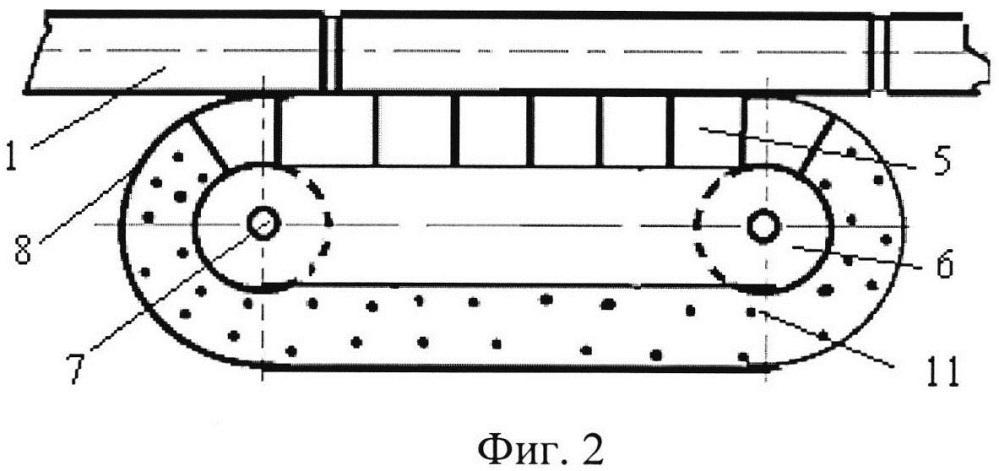 Устройство для безостановочного движения поездов пассажирского пневмотранспорта