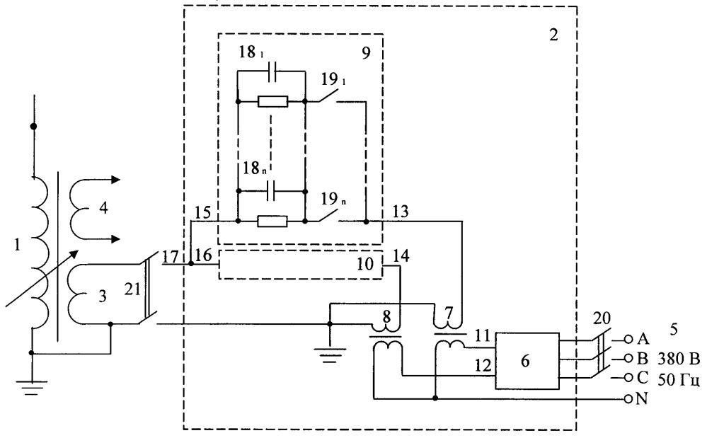 Компенсационно-симметрирующее устройство