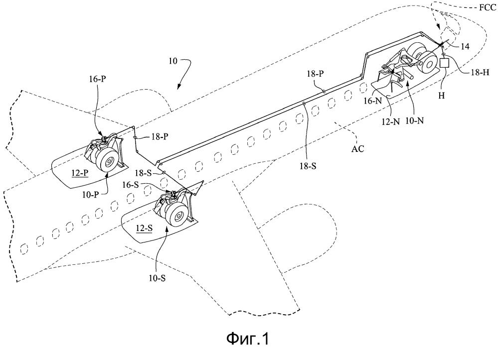 Системы аварийного выпуска свободным падением под действием силы тяжести для узлов убирающегося шасси летательного аппарата