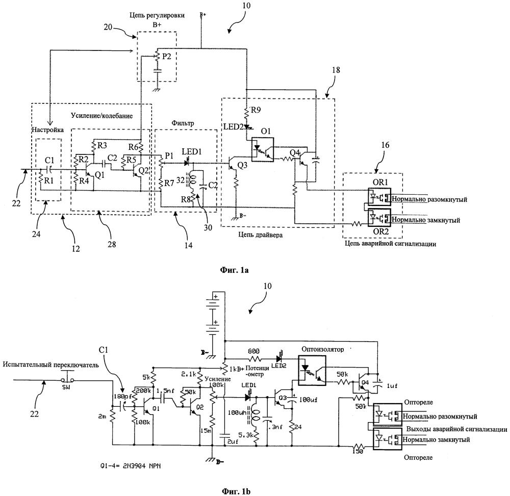 Устройство и способ обнаружения возмущения металлического проводника