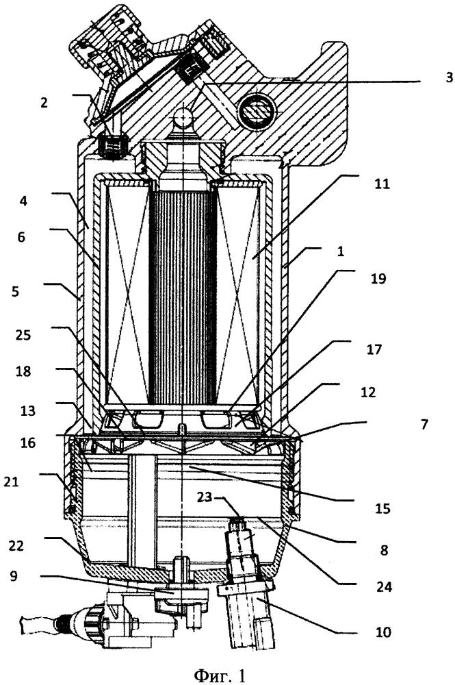 Фильтр предварительной очистки биодизельного топлива