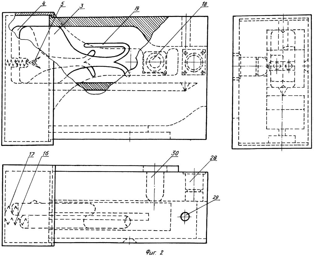 Устройство ковровое двойное узловязальное автоматизированное