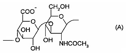 Устойчивый к расщеплению сшитый низкомолекулярный гиалуронат