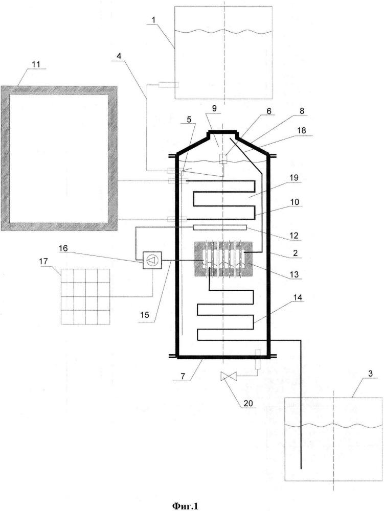Автономная опреснительная установка