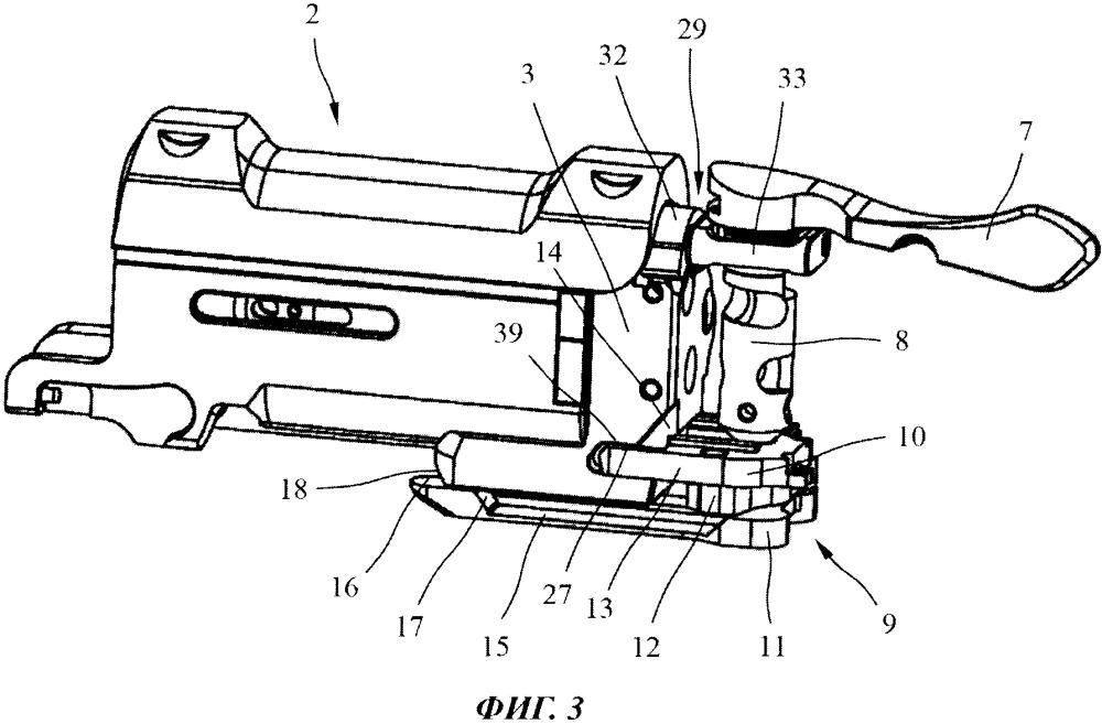Ружье с откидным стволом с коробкой затвора