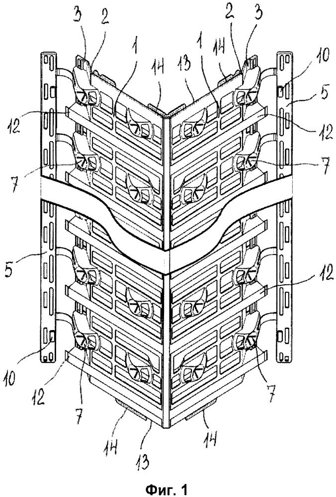 Профиль угловой для крепления облицовочных конструкций