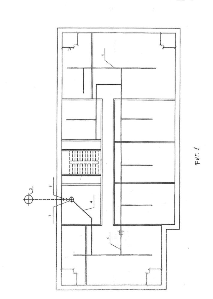 Способ дренажа подвального помещения жилого здания