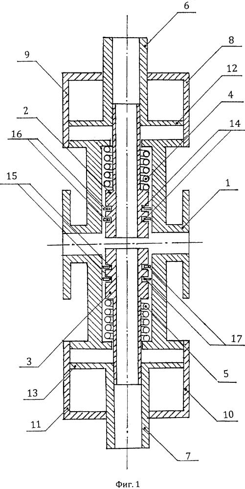 Перестраиваемая волноводно-диэлектрическая камера для контроля жидкостей