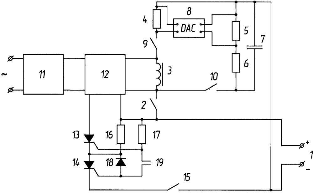 Способ уменьшения пускового тока однофазного трансформатора при повторном включении в режиме холостого хода