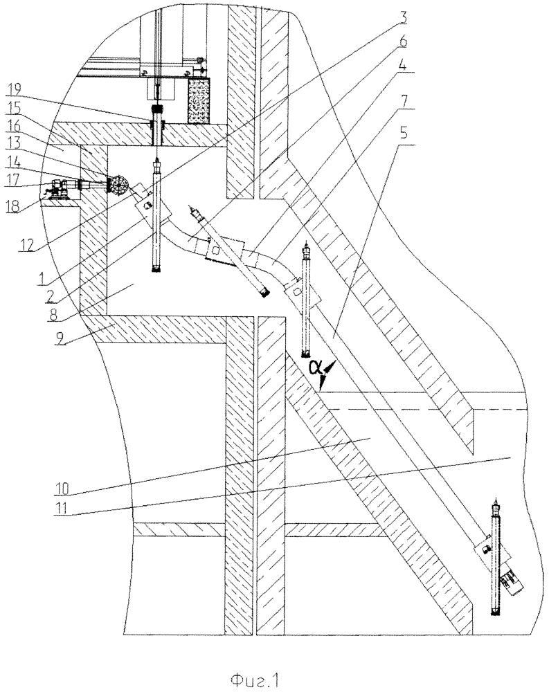 Рельсовый путь для наклонного подъемника ядерного реактора