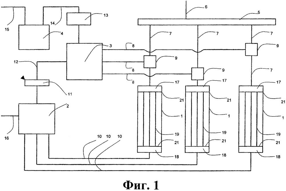 Натриевый контур ядерной установки с реактором на быстрых нейтронах