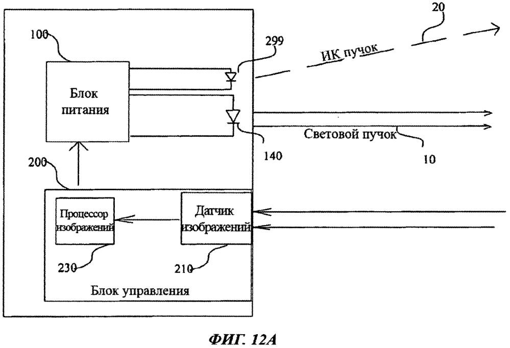 Светодиодный светильник, содержащий устройство регулирования мощности