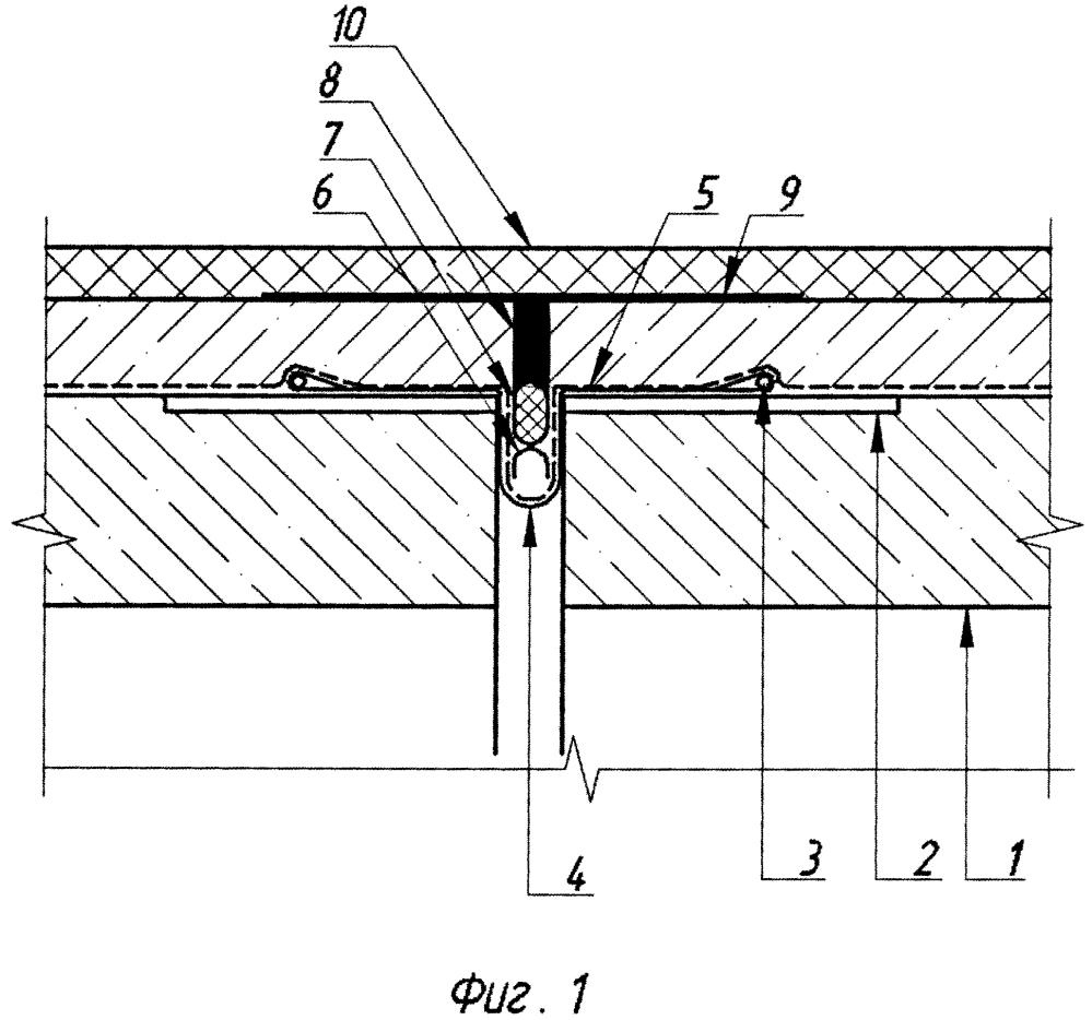 Деформационный шов автодорожного моста