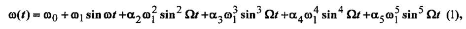 Способ измерения нелинейных искажений чм сигнала, сформированного методом прямого цифрового синтеза