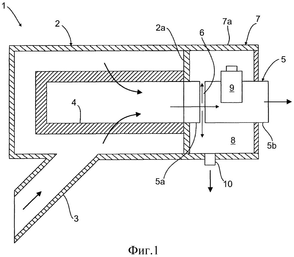 Конструкция отсасывающего устройства для дополнительного агрегата