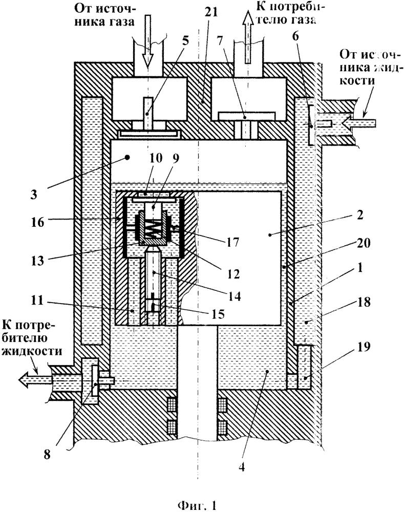 Способ работы поршневой вертикальной гибридной машины объемного действия и устройство для его осуществления